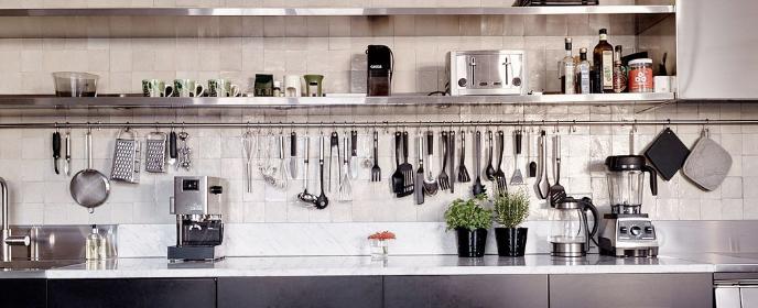 Quelques idées malignes pour avoir des ustensiles de cuisine à portée de main
